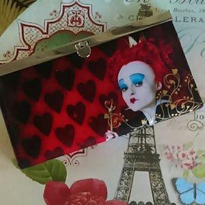 Valentine's Day Queen of Hearts Wallet Disney